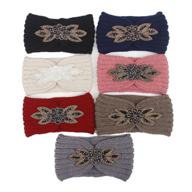 Women's Warm Knitted Headband