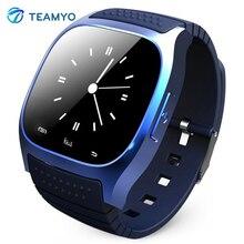 Дешевые Rwatch M26 Bluetooth Smart Часы Android телефон SmartWatch со светодиодной Дисплей музыкальный плеер Шагомер удаленной Камера relojo smart