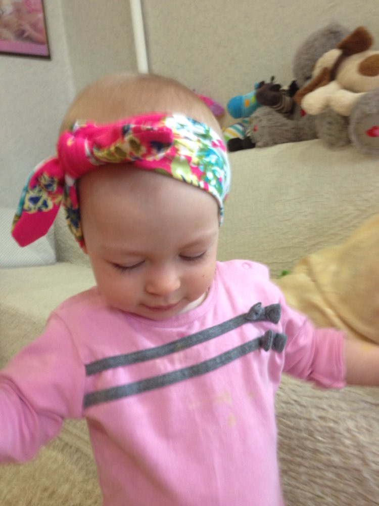 c3a532681a24 1 pieces 2015 Cute Newborn Baby Cool Girls Printing Knot Elasticity  Headband Cotton Children Girls Baby. sku  32453111586