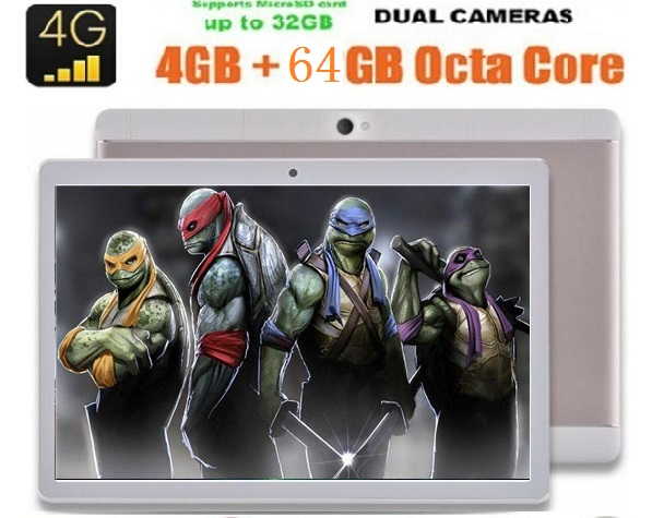 10 inch Original 3G 4G LTE tablet PC Android 6 0 Phone call Octa core 1280x800