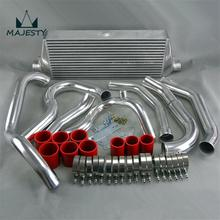 FRONT MOUNT INTERCOOLER PIPE KIT FOR su baru WRX IMPREZA GDA GDB 00-05 NEW color red