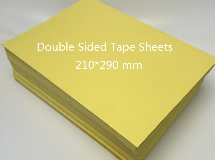2/10/30/50 Sheets Double Sided Adhesive Tape Sheet For Cardmaking Paper Craft 210*290mm