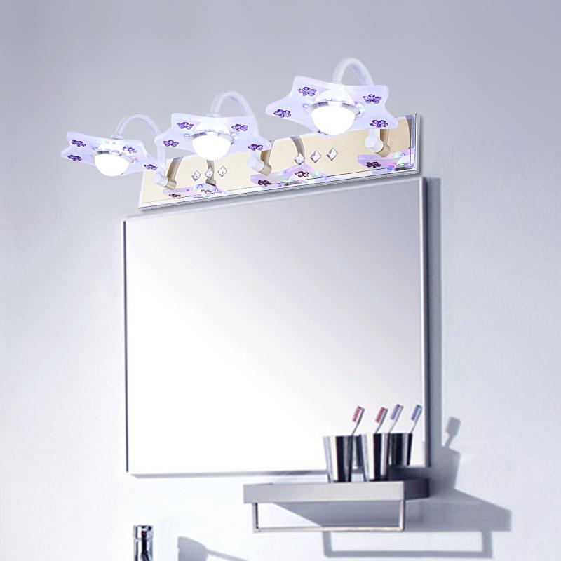 degree rotacin espejo lmpara led v rstico espejos para bao w luces