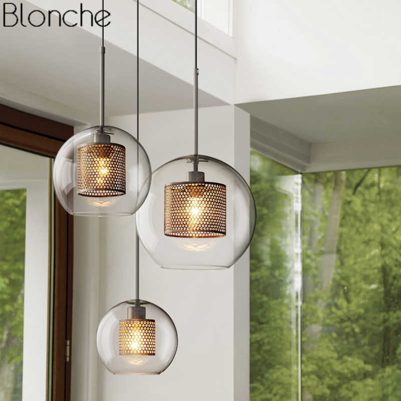 Nordic Modern Pendant Lights Loft Led