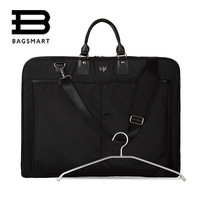 BAGSMART Men Suit Cover Bag DustProof Water Repellent Dress Suit Carrier Tote Ceremonial And Funerary Garment
