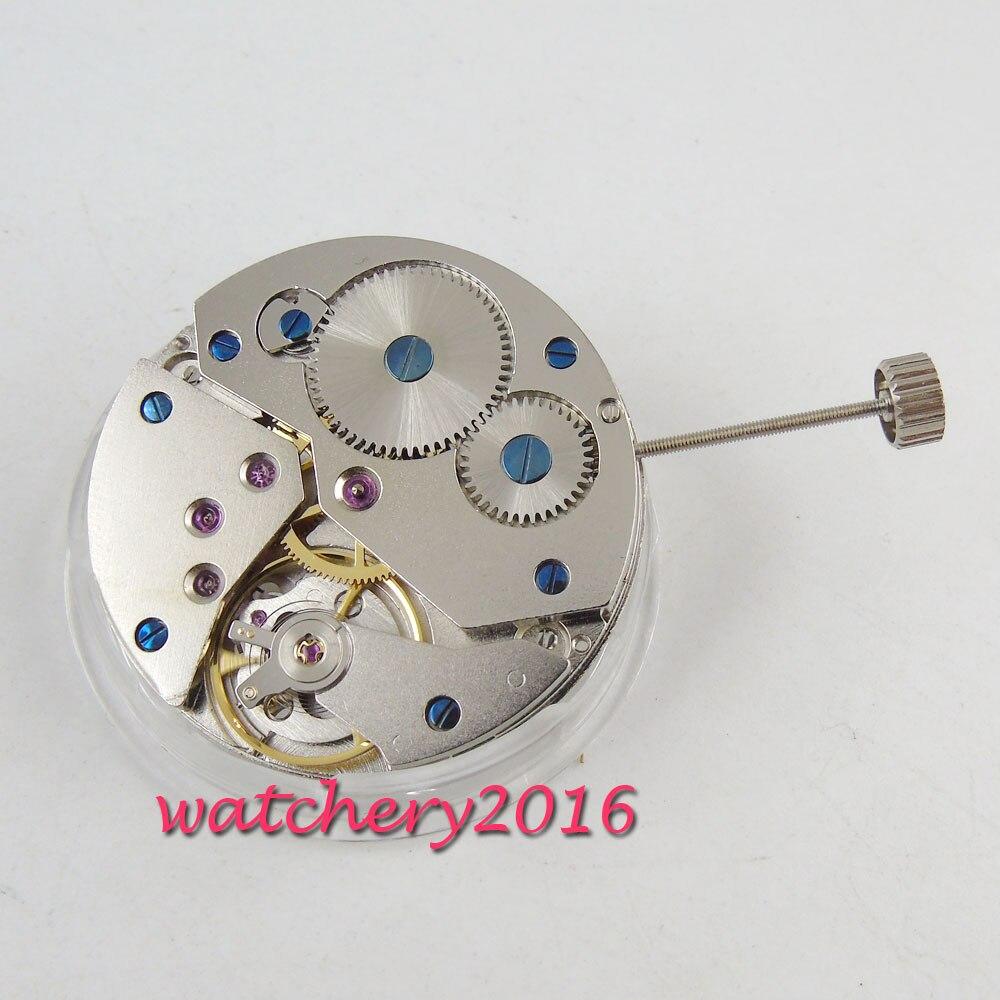 17 juwelen 6497 mechanische handaufzug vitage herren uhr bewegung-in Reparatur-Werkzeuge & Kits aus Uhren bei