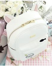 Принцесса сладкий Лолита сумка новый корейский студенческий городок лето кошка кролик прилив мода рюкзак ensso 060