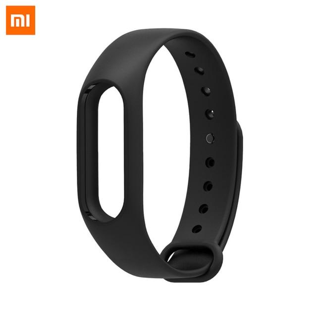 100% Original Xiaomi Colorful Silicone Wrist Bracelet Durable Replacement band for Original Miband 2 Xiaomi Mi band 2 Strap