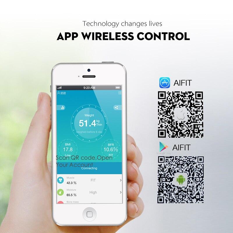 SDARISB Bluetooth floor <font><b>Body</b></font> <font><b>Weight</b></font> Smart Backlit <font><b>Body</b></font> Water Mass BMI