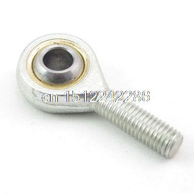 10pcs 8mm Male Left Hand Metric Threaded Rod End Joint Bearing silver male left hand 12mm metric threaded rod end joint spherical plain bearing pack of 2