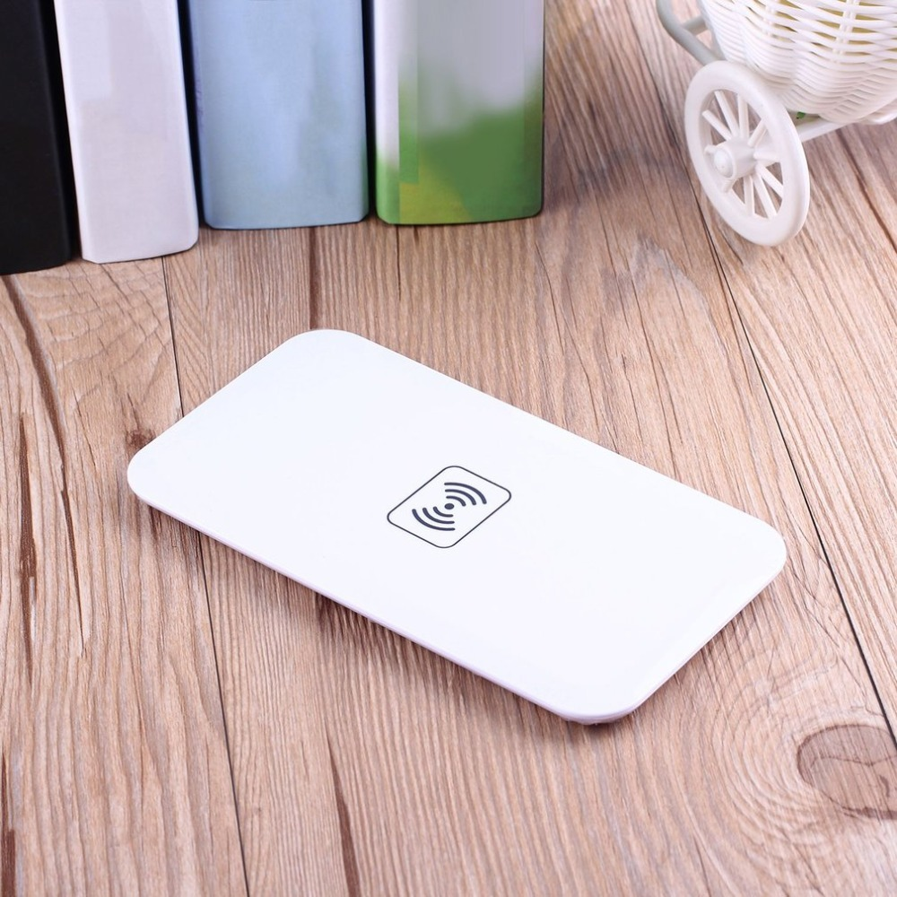 Smart Qi Wireless Charger For Samsung Galaxy S8 S7 S6 edge Wireless Charging Pad For iPhone X 8 Plus Nokia Lumia 1520 930 920 in Mobile Phone Chargers from Cellphones Telecommunications