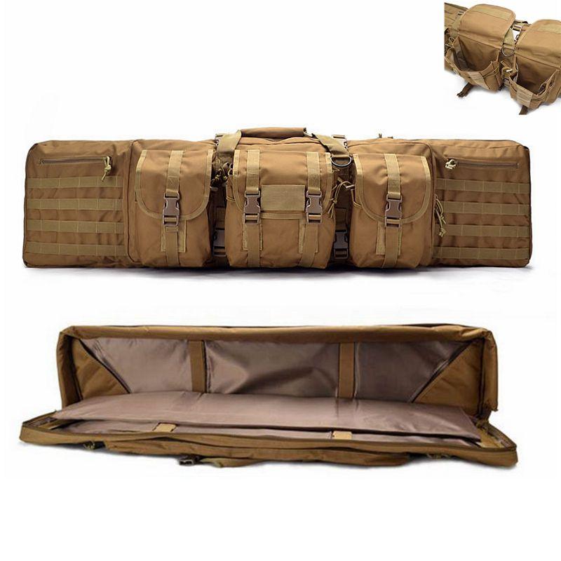 Large Loading Rifle Bag With Shoulder Strap Tactical Hunting Rifle Gun Carry Protection Bag Multifunctional Nylon Gun Carry Bag