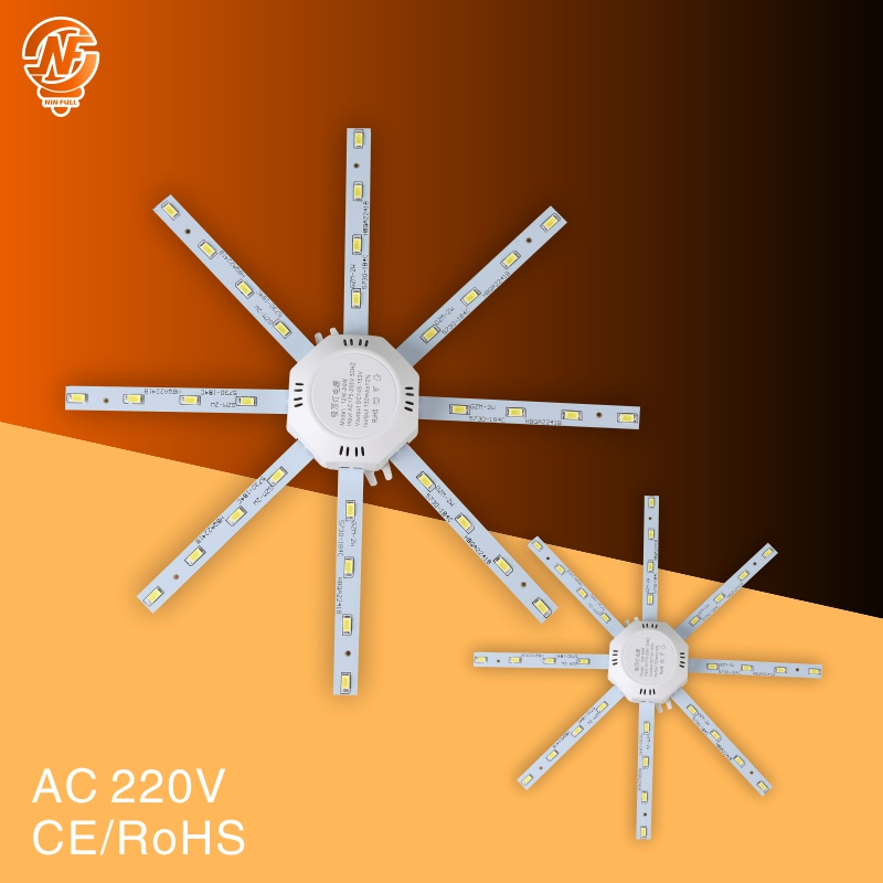 LED Ceiling Lamp Octopus Light 12W 16W 20W 24W LED Light Board 220V 230V 5730SMD Energy Saving Expectancy LED Lamp