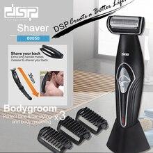 DSP gospodarstwa domowego męska akumulator ciało włosy trymer depilator golarka profesjonalne Extensible depilacja 100 240v