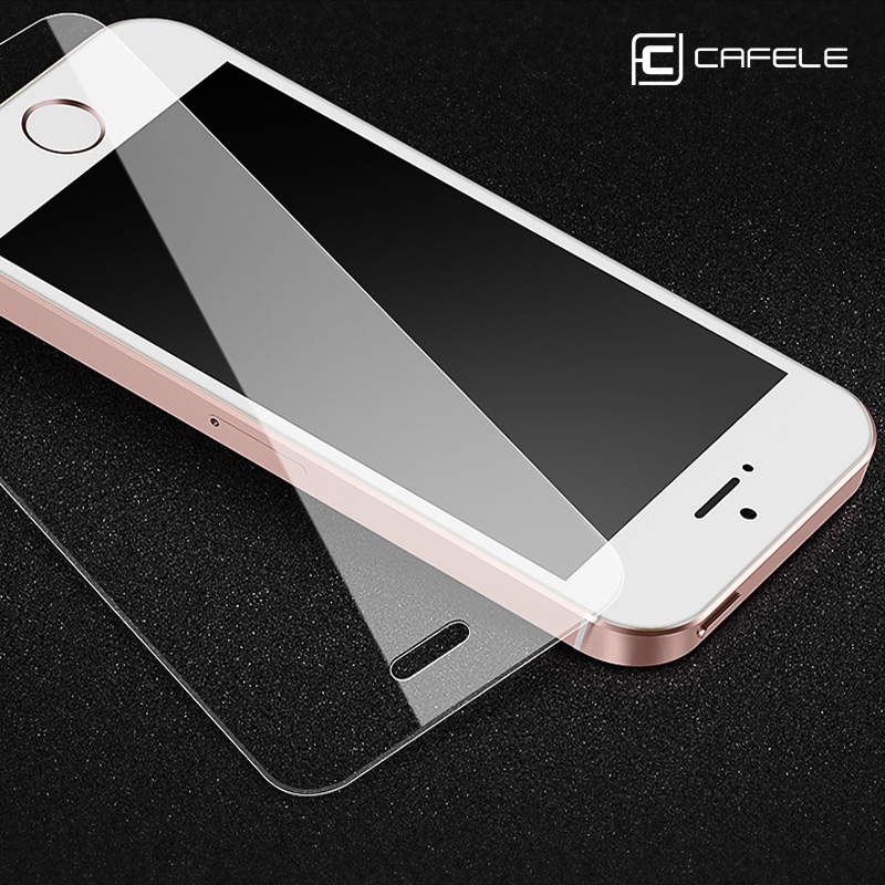 CAFELE HD Tempered Glass for iphone 5S 5 SE Glass Ultra Thin Screen Protector for iphone 5S 5 SE Anti-Scratch Protective Flim image