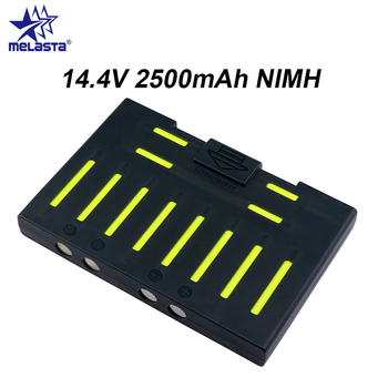 (For QQ6) Melasta 14.4V 2500mAh NIMH Battery for Cleanmate QQ6 Vacuum Cleaning Robot jc 20130709 1