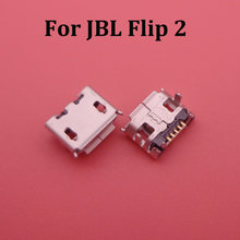2-10pcs For JBL Flip 2 Bluetooth Speaker Mini Micro USB connector jack Charging Port Charger socket plug dock female 5pin repair(China)