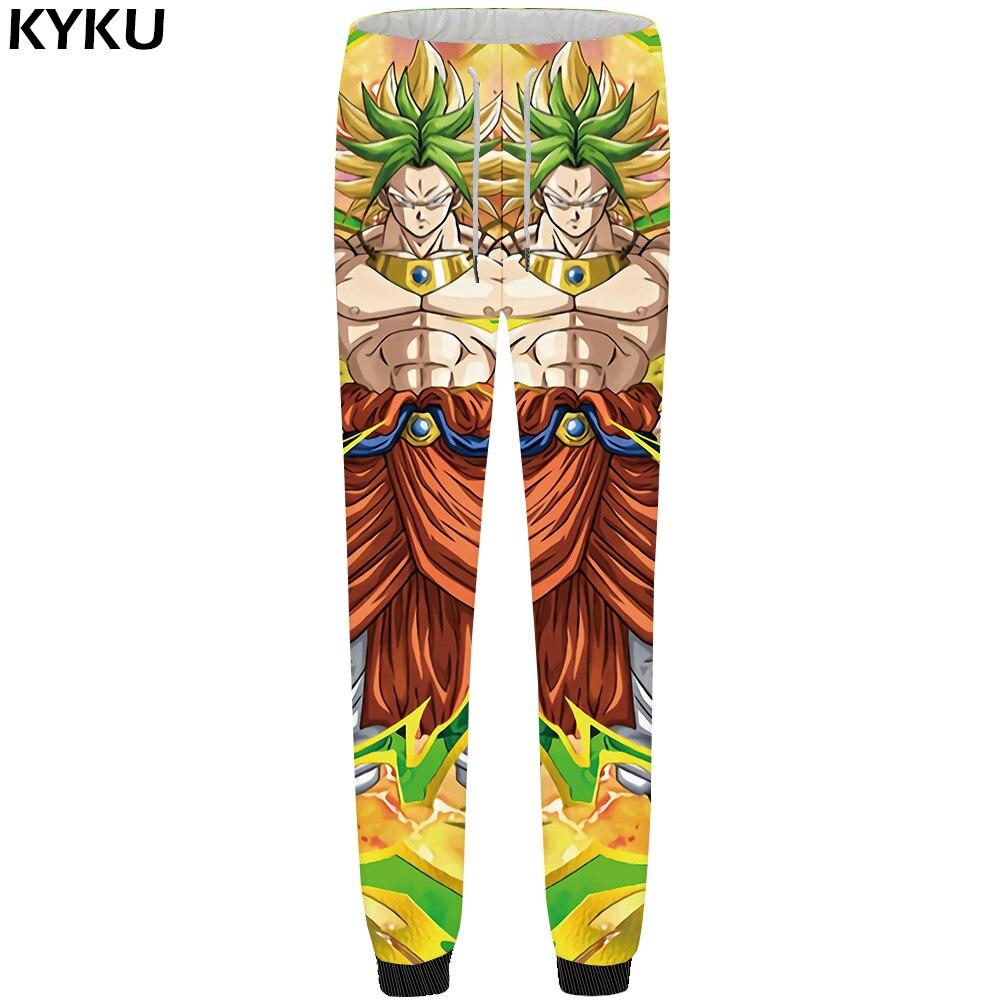 Sammlung Hier Kyku Marke Dragon Ball Hosen Männer Goku Jogginghose Gerade Licht Muscle Britches Gelb Bodybuilding Fitness Herren Hosen 2018 Nachfrage üBer Dem Angebot Nachtwäsche & Nachthemden