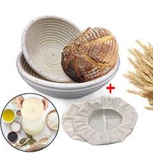 Cesta de isolamento de pães, cesta para preparar massa, ferramentas para preparar massa, itens de confeitaria, cestas