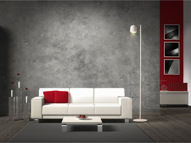Simple Personality Iron White Shade Living Room Study