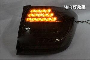 Image 5 - Paraurti auto faro Highlander fanale posteriore, 2012 ~ 2014;LED highlander luce posteriore, Nero/colore Rosso, highlander luce di nebbia