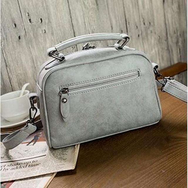 High Quality Numbuck Leather Women  Top-Handbag Fashion Women Shoulder Bag Warm Winter Women Bag
