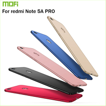 For Xiaomi Redmi Note 5A Pro Cover Case Original MOFI Hard Prime Hight Quality Phone Shell