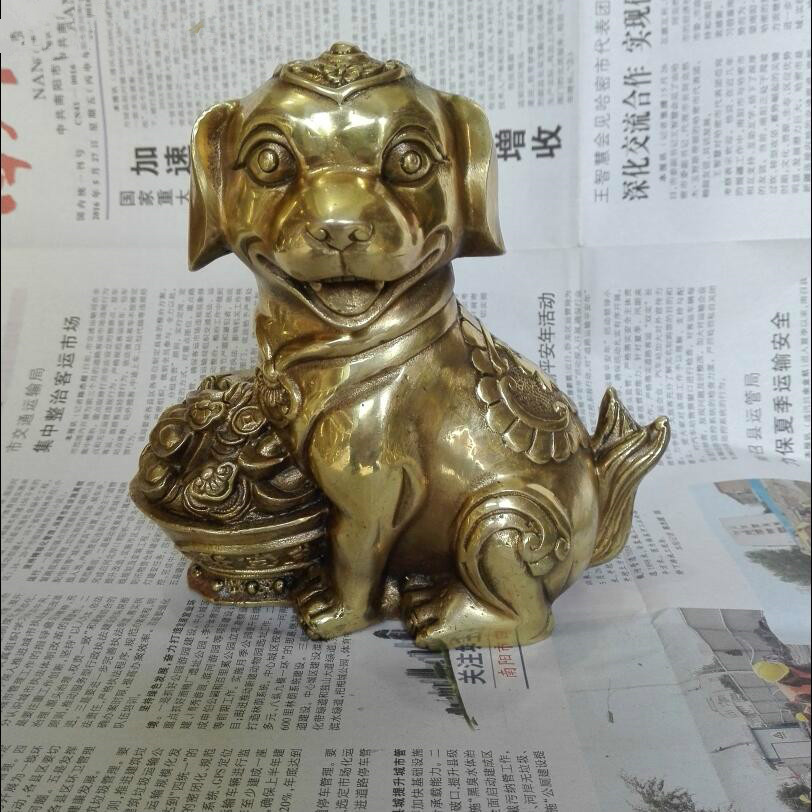 New arrival metal crafts !!! Mothers Day gift !!! Lucky and healthy Brass Dog Sculpture,Surprise creative gift for motherNew arrival metal crafts !!! Mothers Day gift !!! Lucky and healthy Brass Dog Sculpture,Surprise creative gift for mother