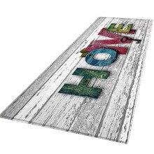 60X180 см 9 видов живописный ковер коврик для прихожей Противоскользящий ковер впитывающий воду кухонный коврик