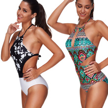 Tank Heart Sexy Vintage Swimsuit Women one piece Swimwear Large Sizes one-piece Suits Monokini push up Plus Size Bathing Suits