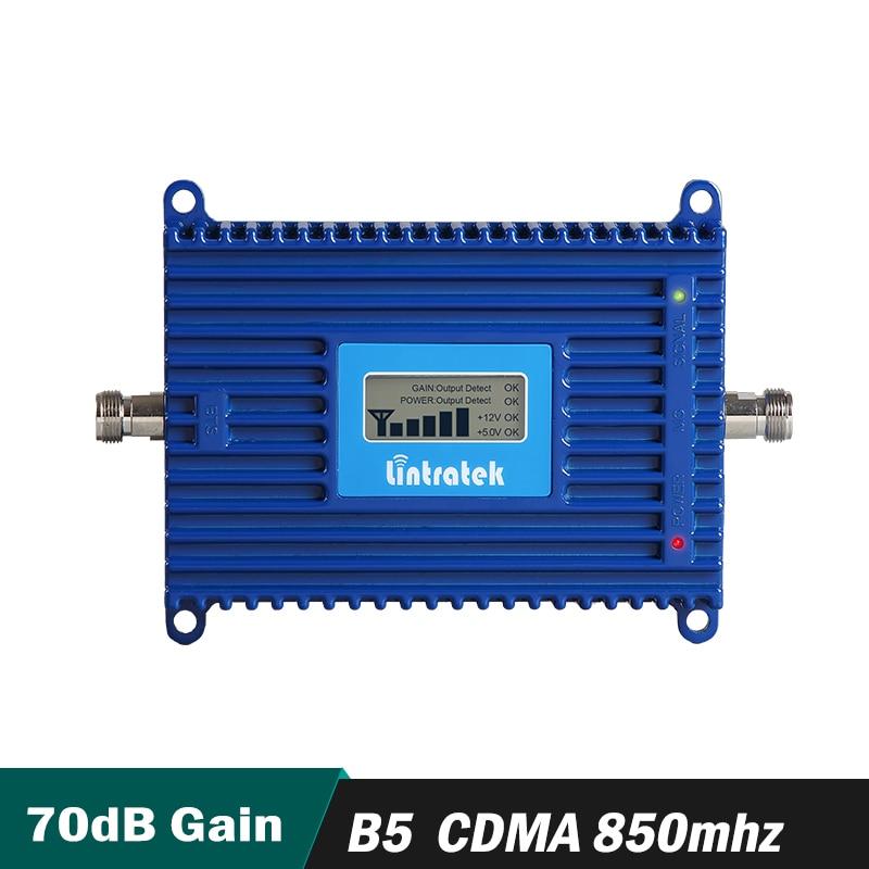 Gain 70dB GSM CDMA 850 mhz Mobile Signal Repeater (LTE Band 5) CDMA 850 mhz Handy Signal Booster Verstärker mit LCD display