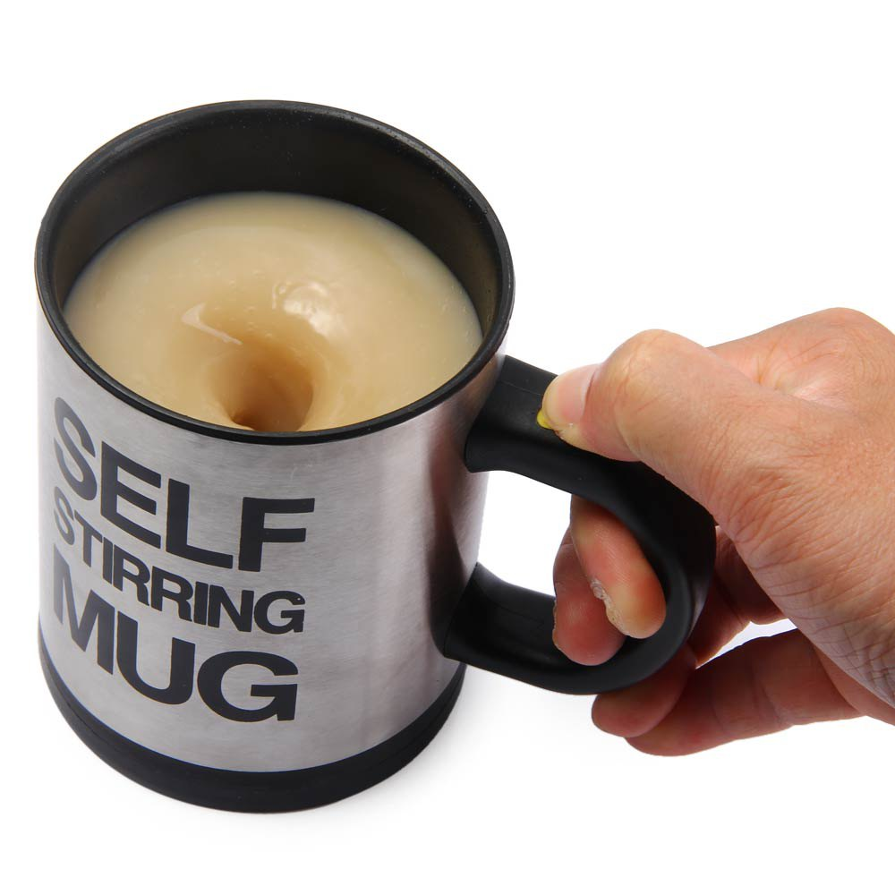 400 Ml Self Stirring Coffee Mugs Double Insulated Mug Automatic Electric Smart Mixing In From Home Garden On