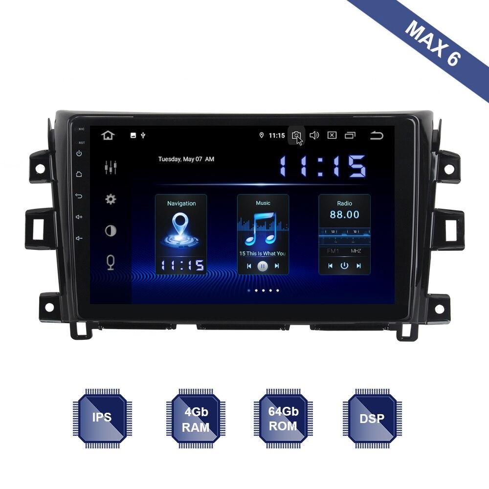 Android 9 0 Car Radio 2 Din GPS Navi for Nissan NP300 Navara Radio 2015 2016