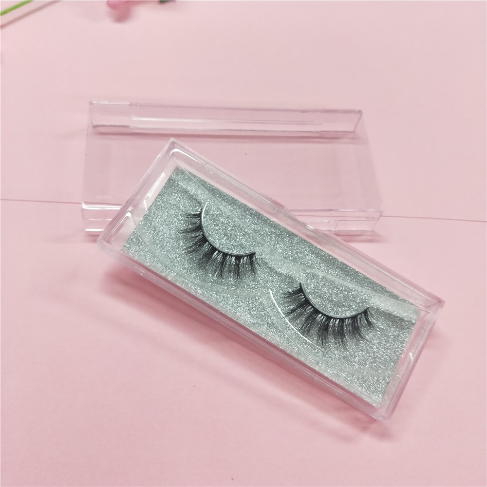 10 pairs Hand Made 3D Silk Eyelashes Natural Long Faux Mink Lashes Cruelty Free False Lashes Extensions Makeup free shipping