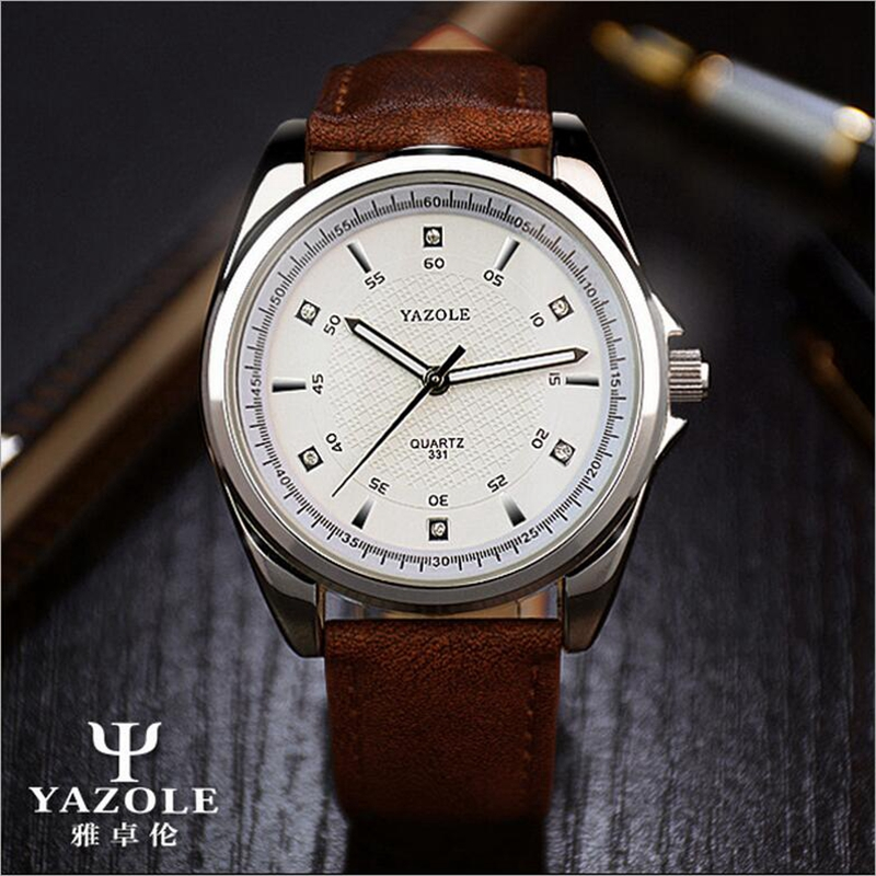 YAZOLE Quartz Watch Men Top Brand Luxury Famous Wristwatches Male Clock Wrist Watch 2017 Quartz-Watch Hodinky Relogio Masculino yazole new watch men top brand luxury famous male clock wrist watches waterproof small seconds quartz watch relogio masculino