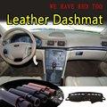 Für Volvo s80 1999 2000 2001 2002 2003 2005 2006 Leder Dashmat Dashboard Abdeckung Dash Matte Sonnenschirm Teppich Nach Auto styling auf