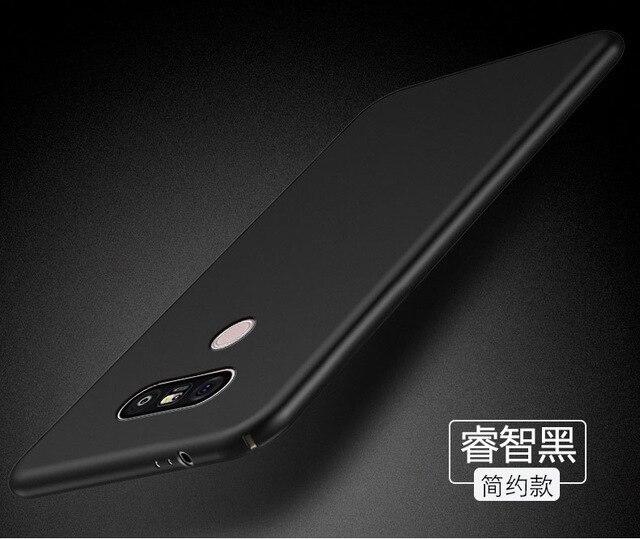 "For Phone Case LG V30 Cover Ultra-thin Smooth Back Protection Plastic Case For LG V30 Case For LGV30 V 30 Moible Shell 6.0"" >"