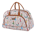 Travel Bags Women 48% OFF Waterproof 2016 Fashion Luggage Packing Cubes Bag PU Foldable Weekender Leather Travel Bag X047