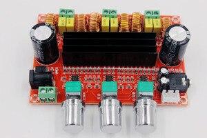 Image 4 - TPA3116 D2 50Wx2 + 100 واط 2.1 قناة الصوت الرقمية مضخم صوت مكبر كهربائي مجلس 12 ~ 24 فولت مكبر للصوت لوحات وحدات