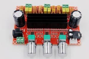 Image 4 - TPA3116 D2 50Wx2+100W 2.1 Channel Audio Digital Subwoofer Power Amplifier Board 12~24V Amplifier Boards Modules