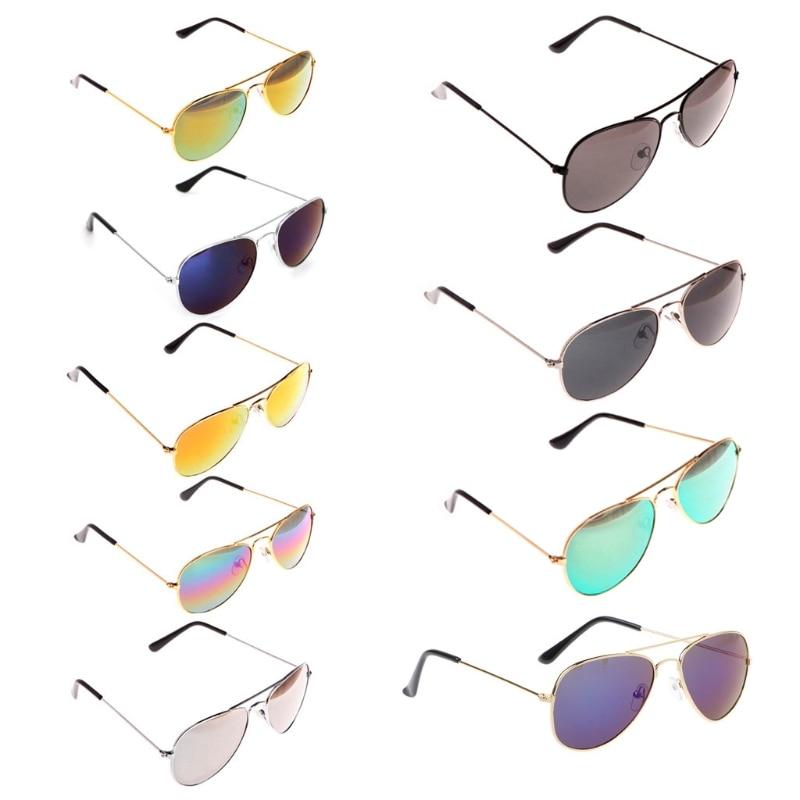 Для малышей и детей постарше, детские джинсовые штаны для маленьких мальчиков, девочек УФ защитные очки солнцезащитные очки для инструмент...