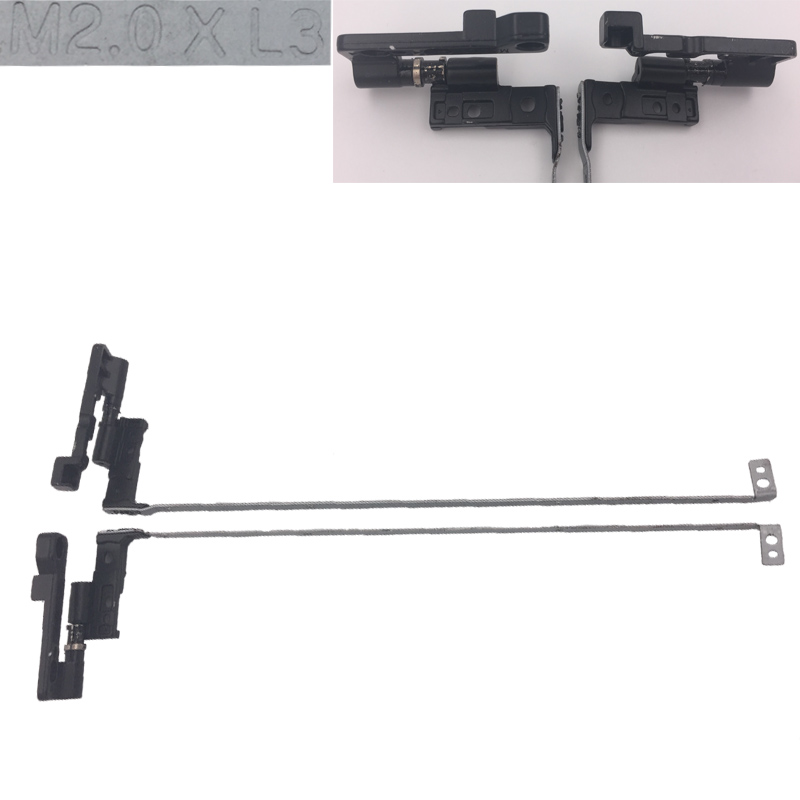 CIES Trading Co.,Ltd. New Laptop Hinges for HP Pavilion DV5000 Series PN: AMZIP000700 AMZIP000800 Notebook Left+Right LCD Screen Hinges