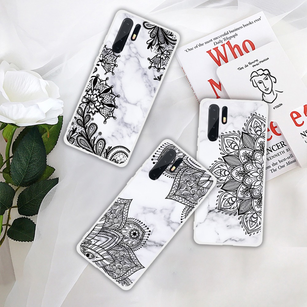 Case For Huawei P30 Pro P20 Lite P10 P Smart 2019 Marble Soft Silicone TPU Phone Cases For Huawei P30 P20 Pro PSmart 2019 Cover  (21)