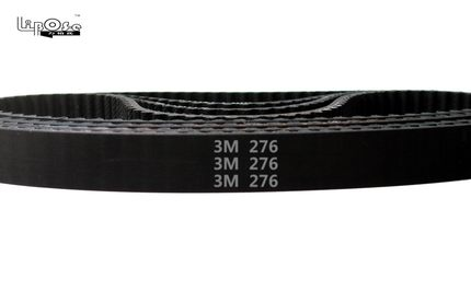 5 pieces/pack HTD3M 276 15 timing belt teeth 92 width 15mm length 276mm rubber closed-loop 276-3M-15 HTD 3M for electric planer цена