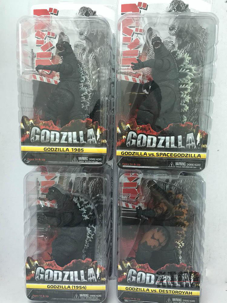 ФОТО Limited! 27-30CM High Classic Toy Godzilla 2014/1994/1985/1954 Years monsters action figure Toys