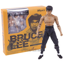 Movie King Kung Fu Bruce Lee SHF S.H.Figuarts PVC Action Figure Collectible Model Toy 14cm