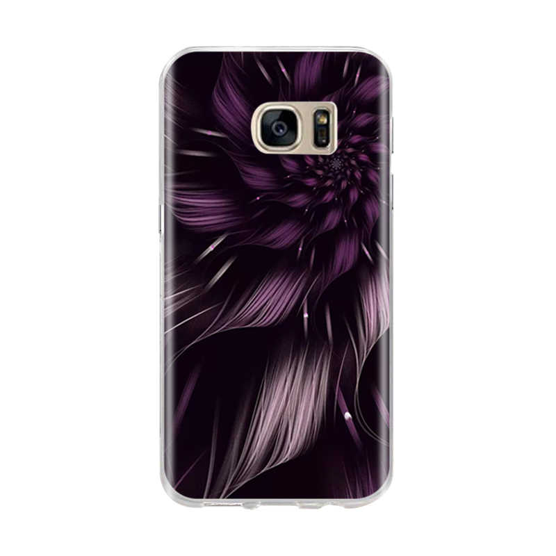 Dành Cho Samsung S6 S7 Edge Ốp Lưng Silicone Mềm Bao 3D Họa Tiết Mèo Ốp Lưng Dùng Cho Samsung Galaxy S6 S7 s8 S 6 7 8 Ốp Điện Thoại