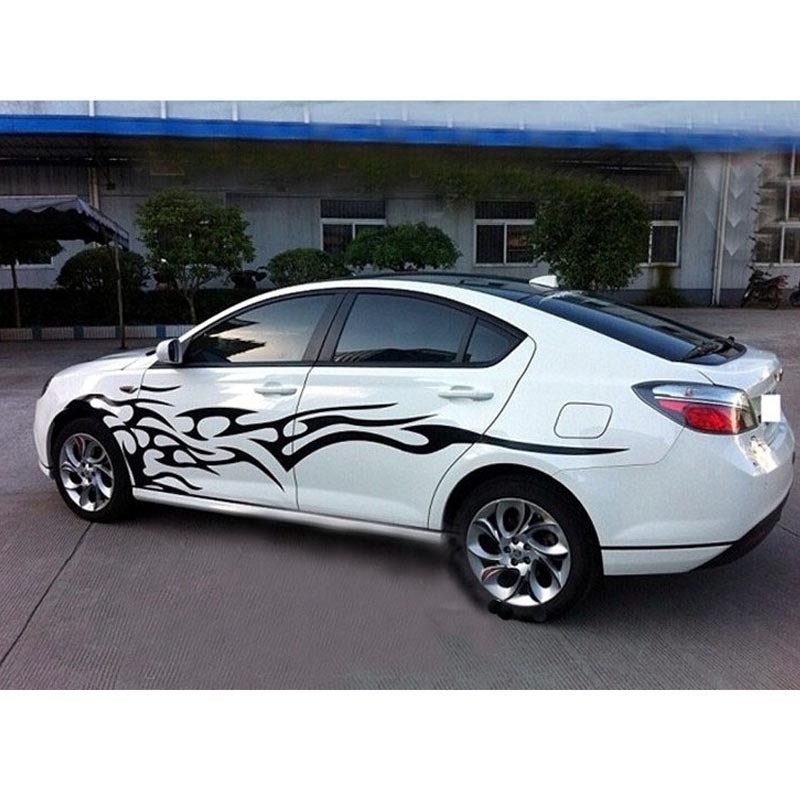 Free shipping car whole body sticker fire shape for honda fit jazz accord amaze city civic fcx clarity grace jade on aliexpress com alibaba group
