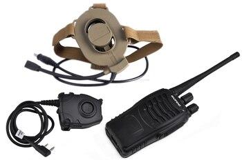 Tactical Bowman II Tactical 2 Generation Headphones zBowman Elite II Headset + zPeltor PTT + Kenwood RADIO