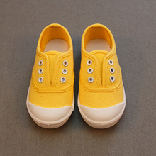 Children Shoes canvas sneakers 2017 spring kids fashion girls shoes toddler boy canvas shoes Size 21-36 cheap kids trainers